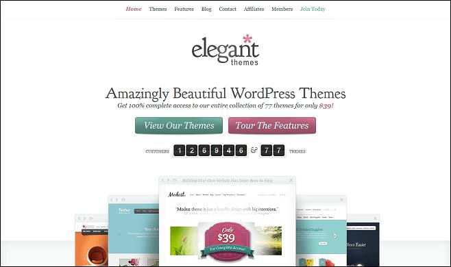 elegant-themes-Best themes