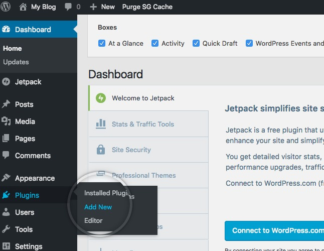 How To Install Plugins From WordPress Dashboard : Step By Step WordPress  how to install plugins
