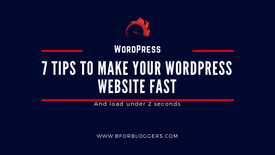 How To Improve Your WordPress Site Speed