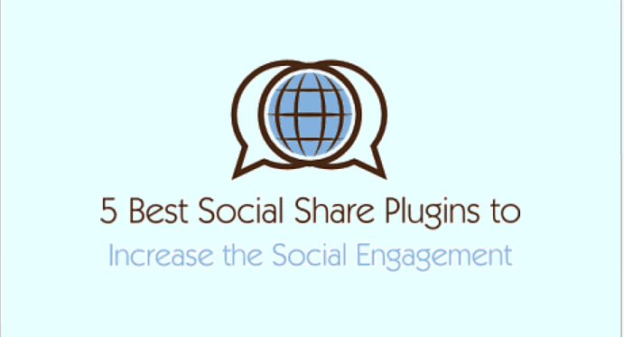 5 Best WordPress Plugins to Add Share Buttons on your Blog