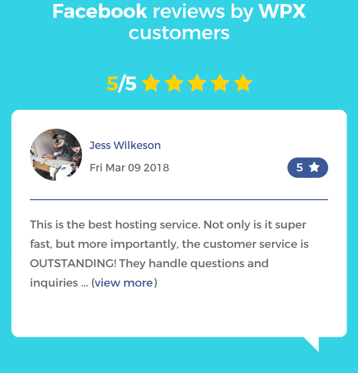 WPX Hosting Review : Rock Solid Servers With A Friendly Support REVIEWS  Hosting