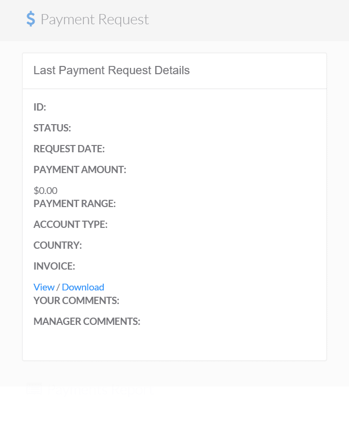 my fiverr affiliate payment proof and invoice panel
