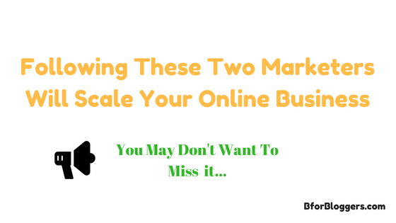 Following These Two Marketers Can Help Your Online Success