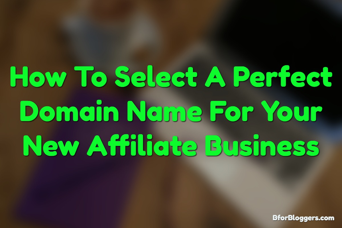 How To select a domain name for your business