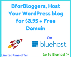 bluehost 65% off for bforbloggers.com readers