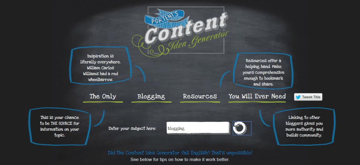 Content-Idea-Generator-from-Portent