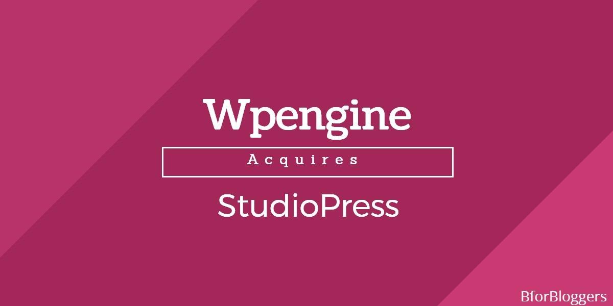 WPEngine Acquires StudioPress : The Genesis
