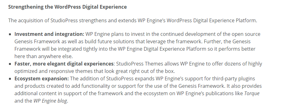 what-wpengine-says-on-its-acquisition-of-studiopress