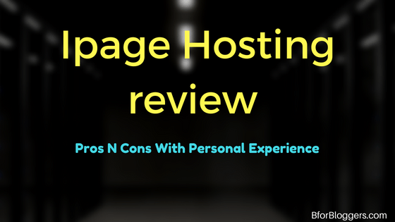 Ipage Hosting Review – Pros N Cons