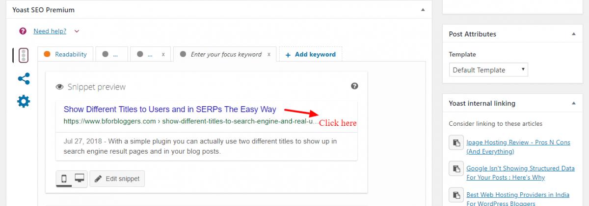 Meta-box-to-edit-titles