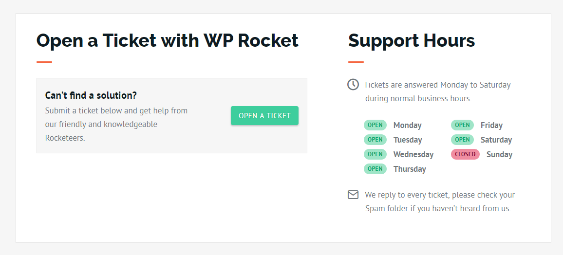 WP-Rocket-Support