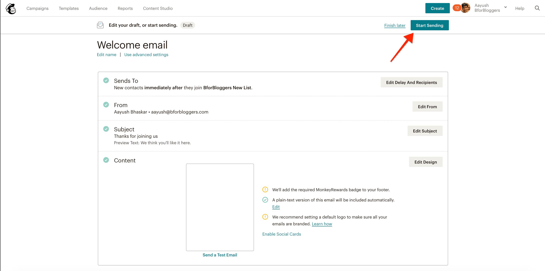 click-on-start-sending