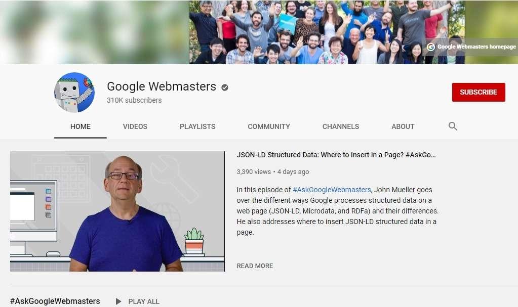 google-webmaster-channel