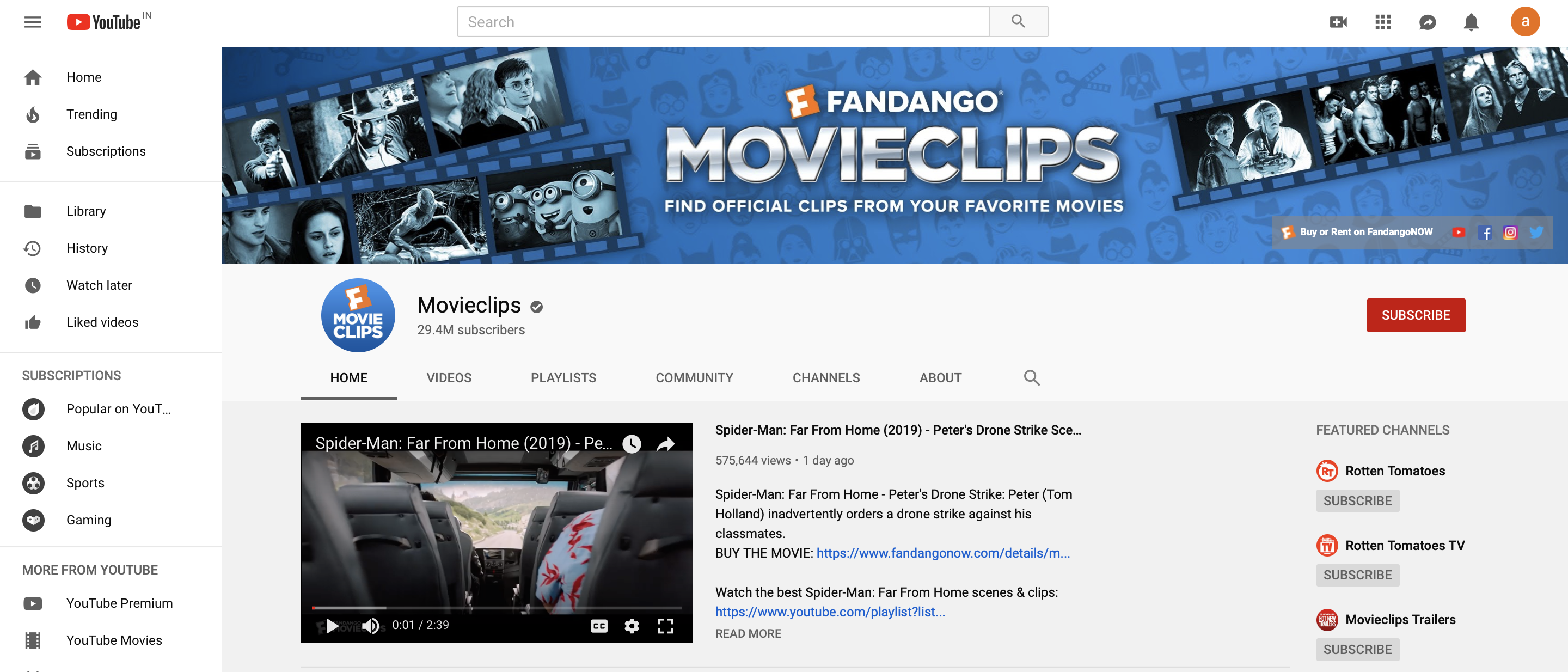 movieclips-youtube-channel