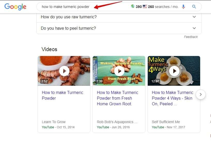 1-video-keywords-google