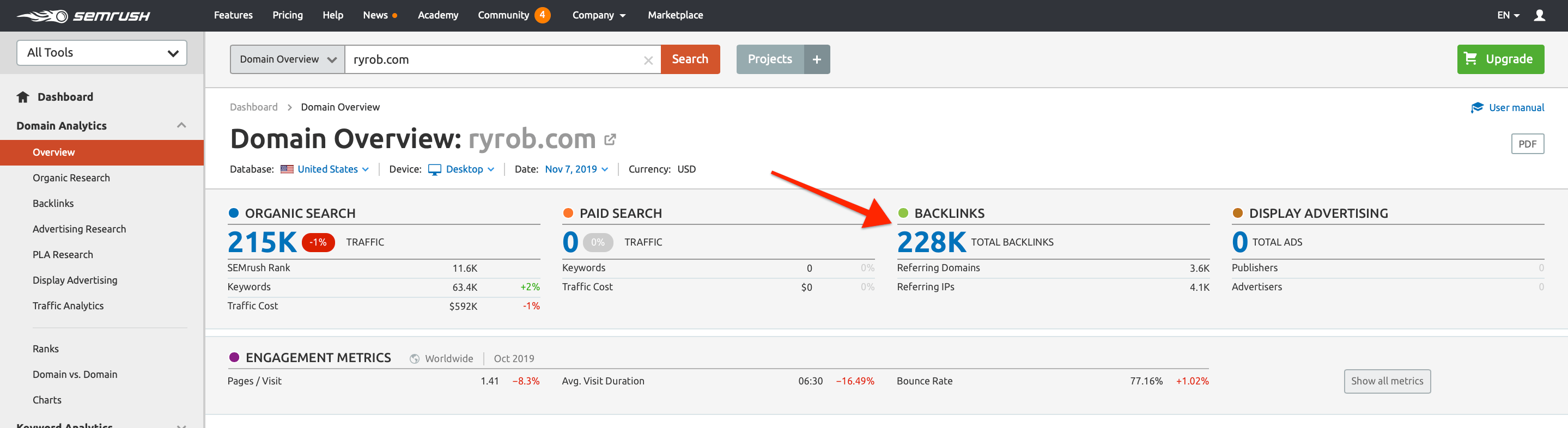 backlink-profile-competitor-analysis-using-SEMrush