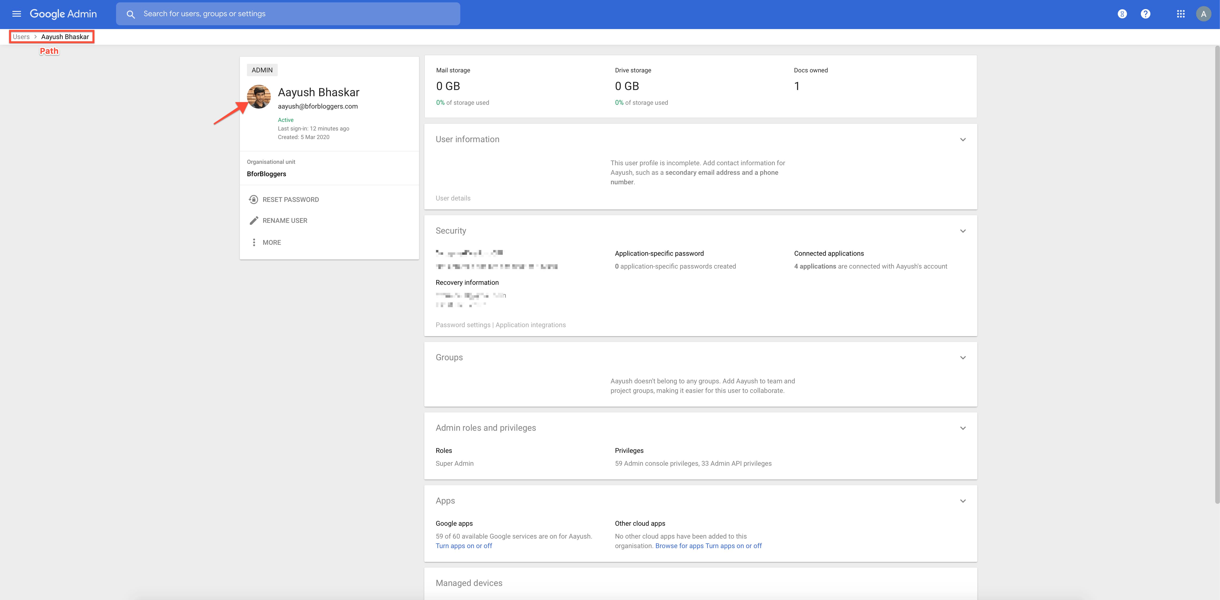 gsuite-profile-settings