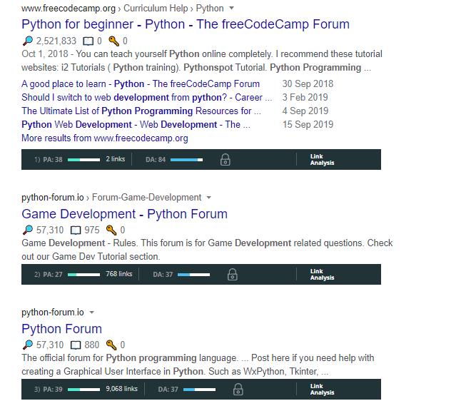 Python-development-forums