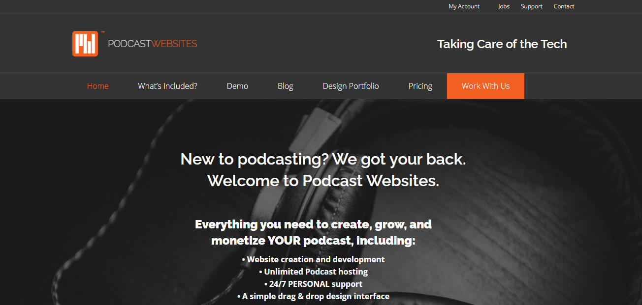Podcast-Websites-Podcast-Host