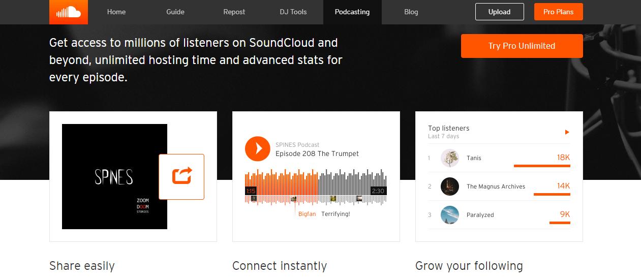 SoundCloud-Podcast-Host