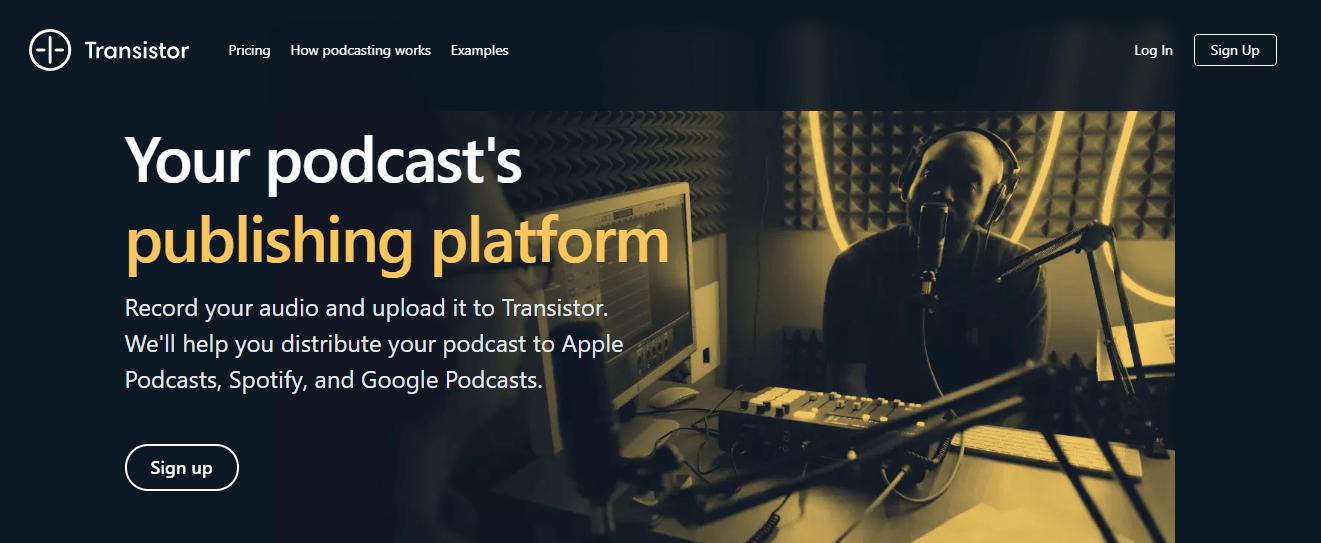 Transistor-Podcast-Host