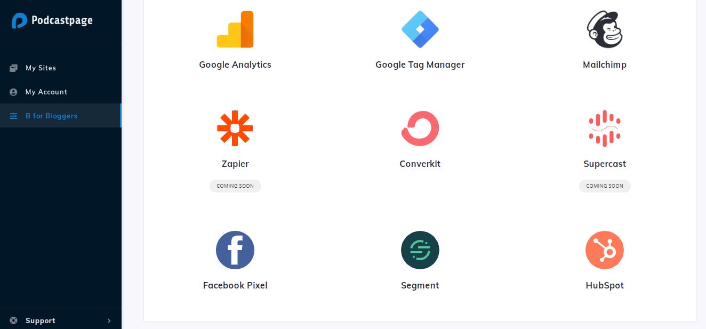 Website-Integrations