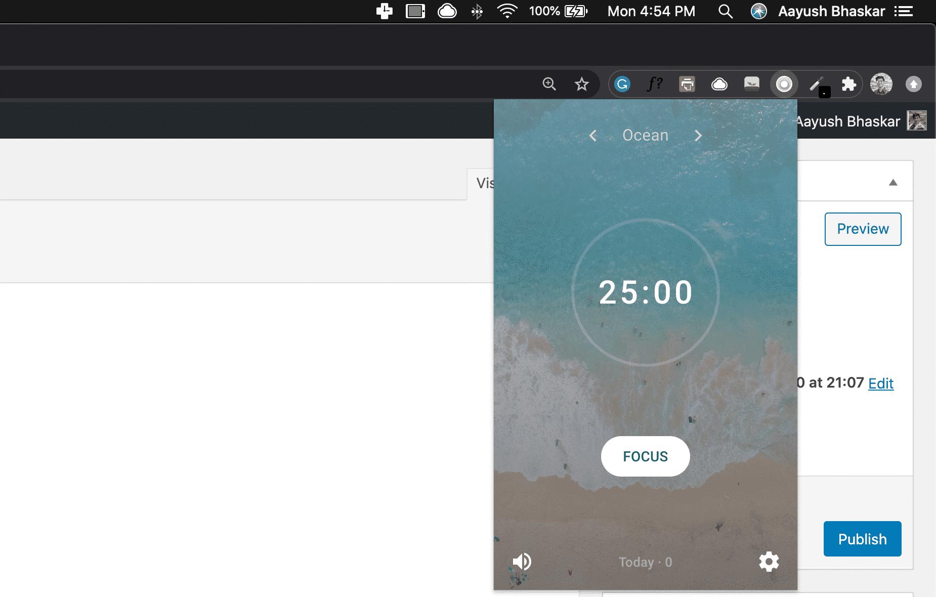 Chrome-extension-pomodoro-technique