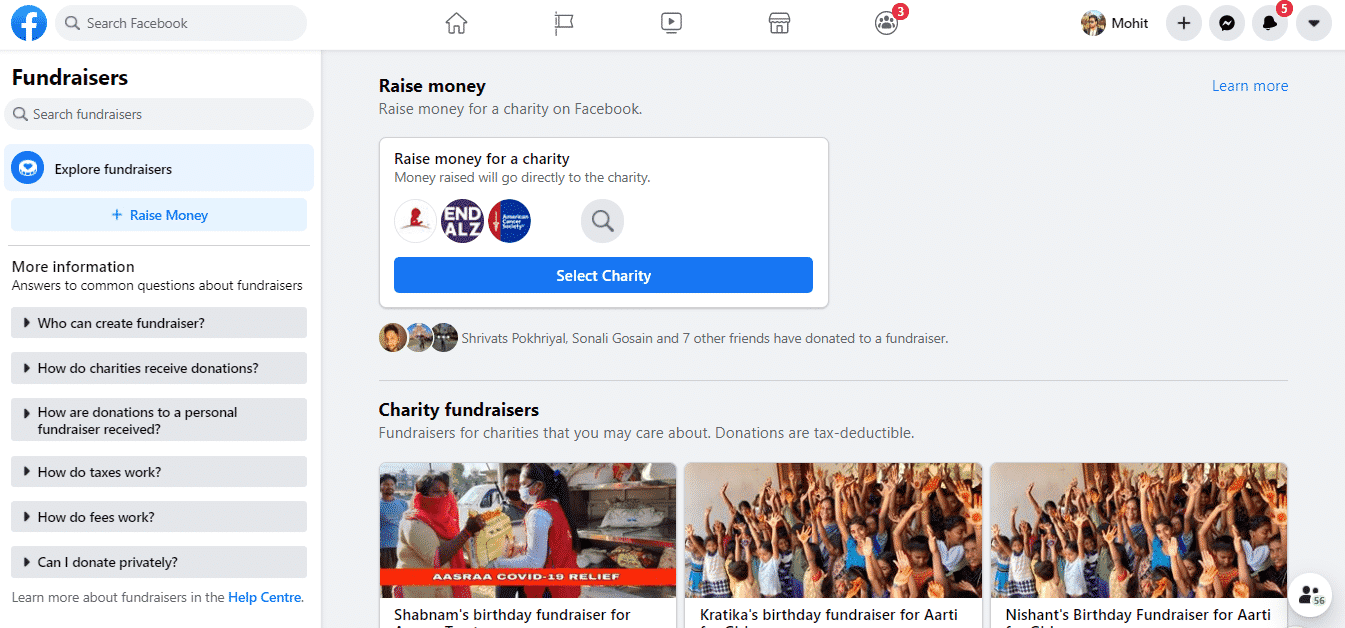 Fundraiser-Campaign-on-Facebook