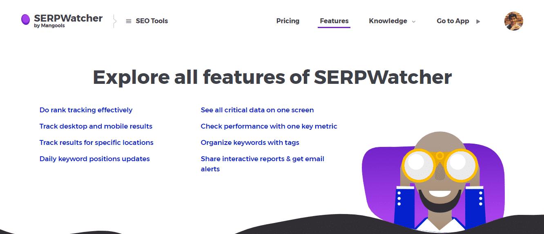 SERPWatcher-Features