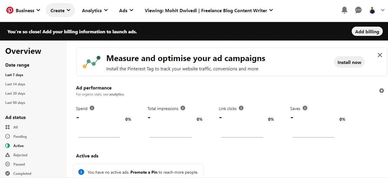 Pinterest-Ads-Manager