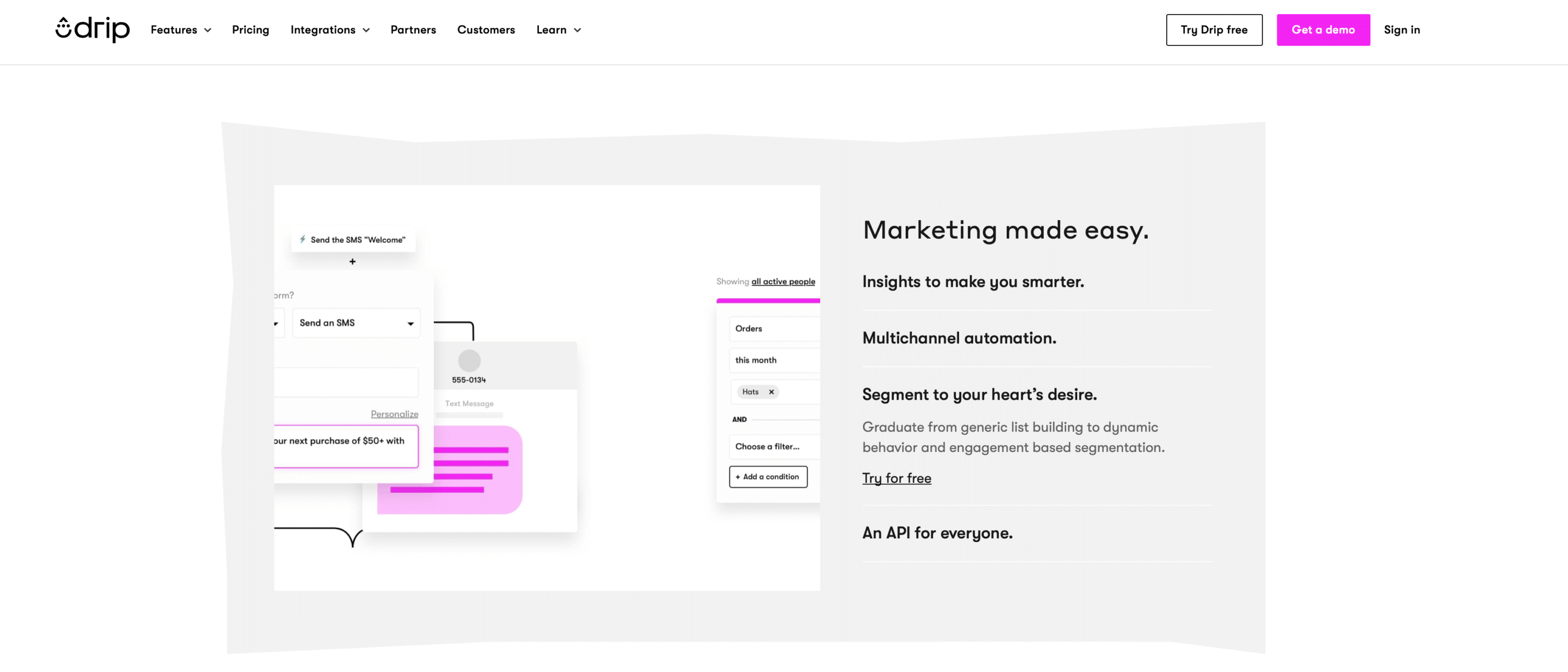 Drip-Ecrm-and-email-marketing-platform