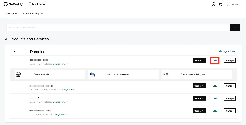 godaddy-domain-name-server-settings