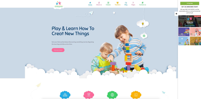 starkid-wp-theme-for-kindergarten-websites