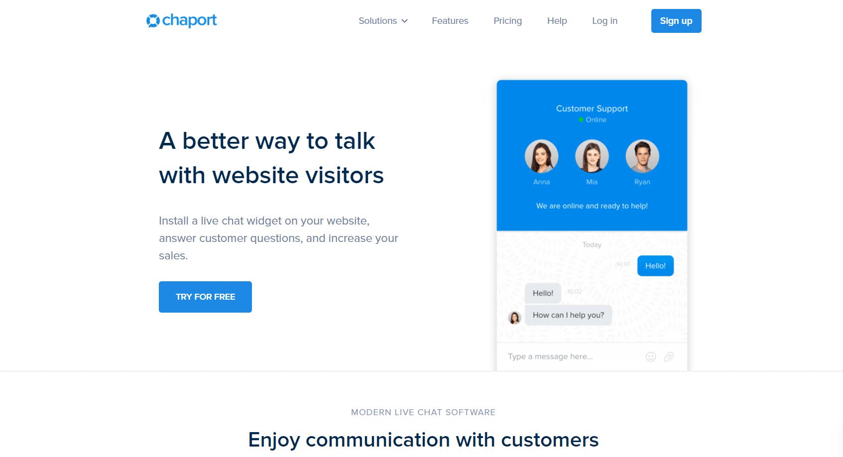 chaport-website-live-chat-service