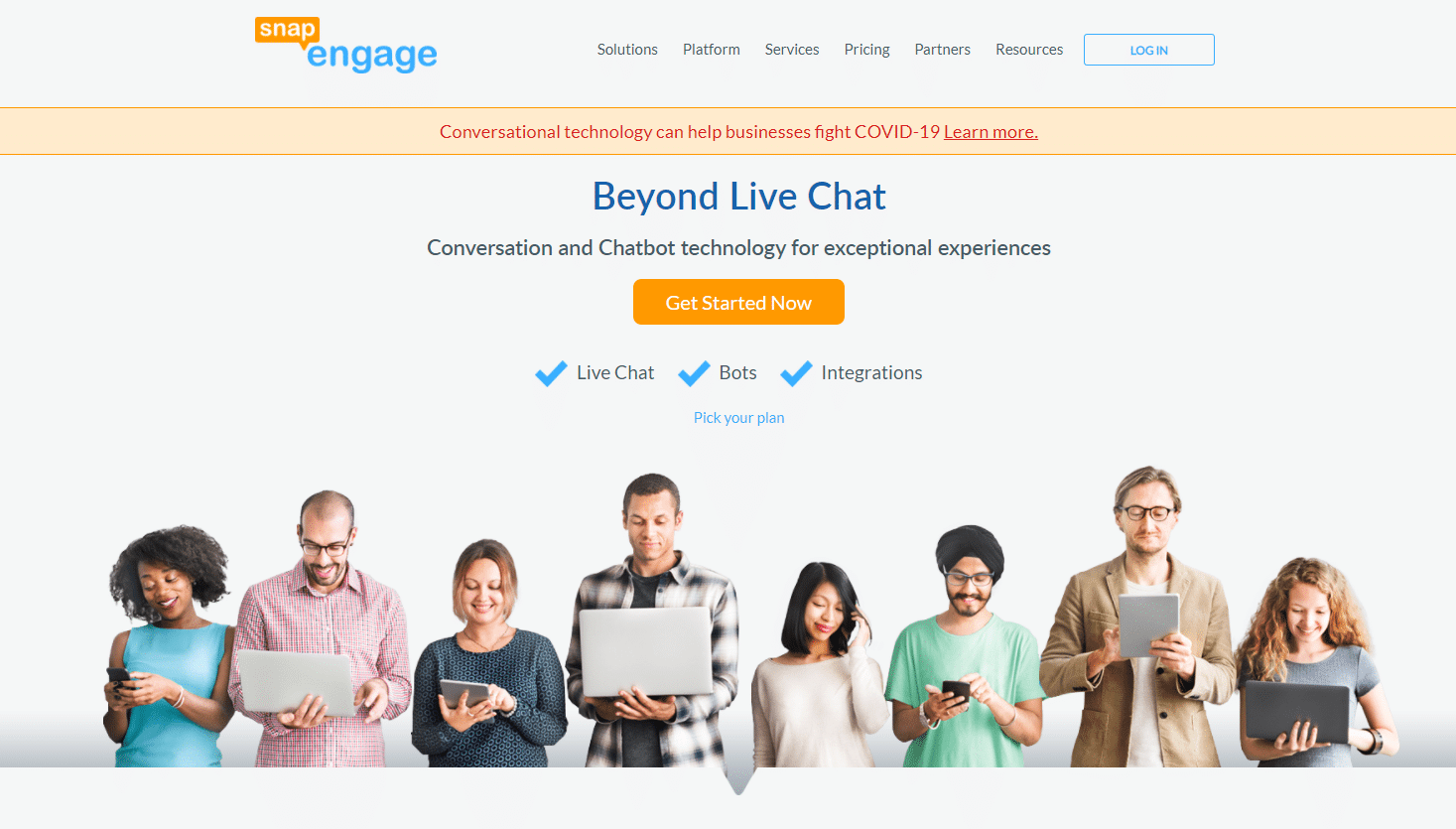 snapengage-live-chat-service