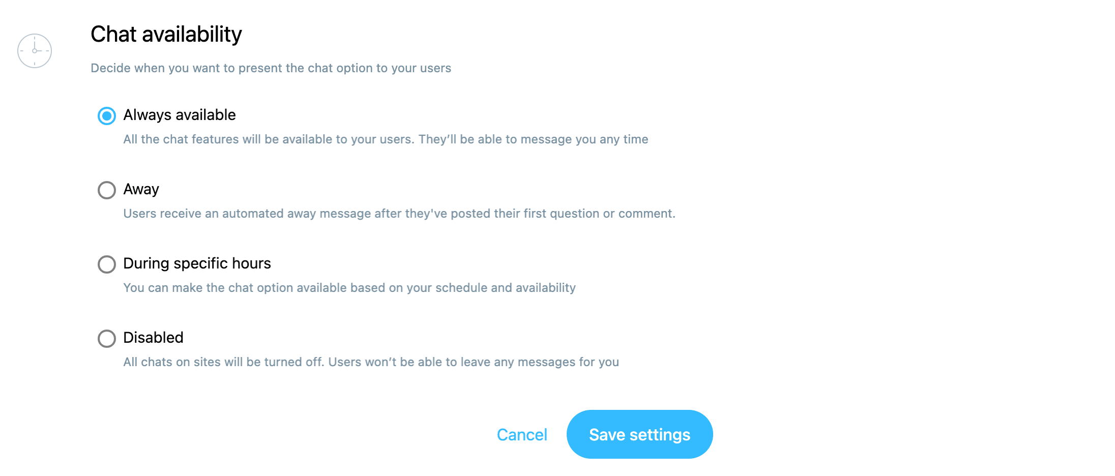 chat-availability-settings