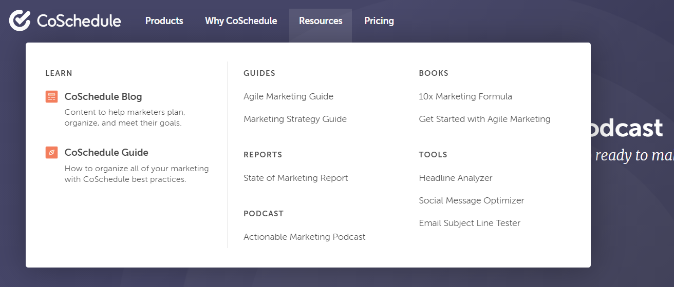 CoSchedule review resources
