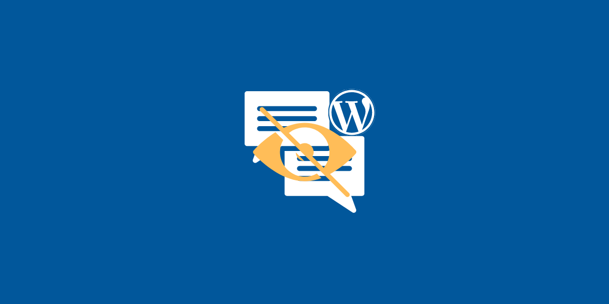 How to Hide Pending Comments from Contributors in WordPress