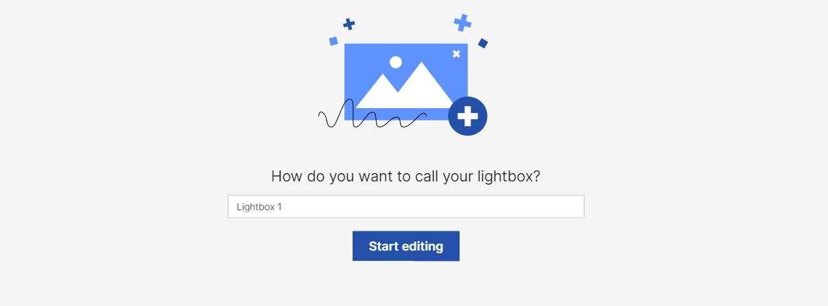 lightbox name