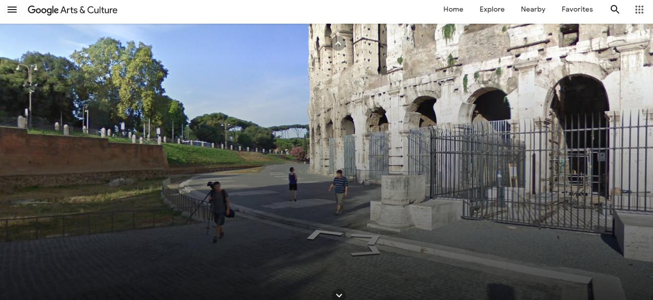 Google Arts and Culture Rome