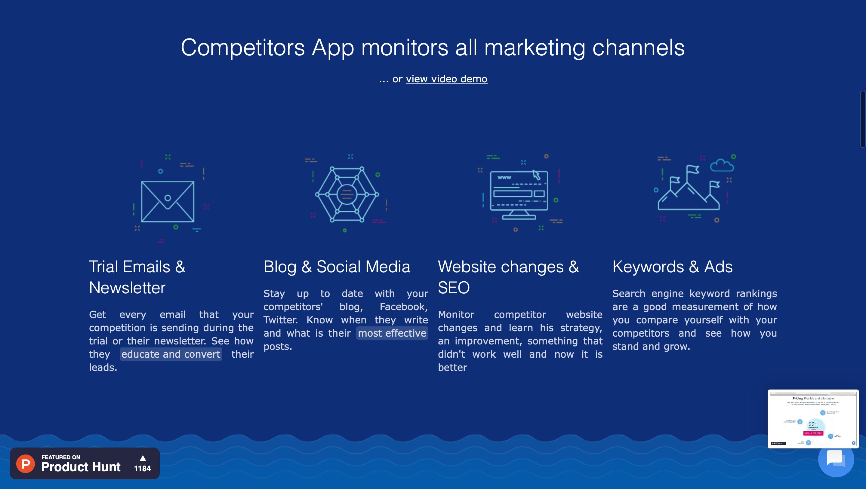 competitors app